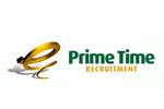 Prime time recruitment company logo