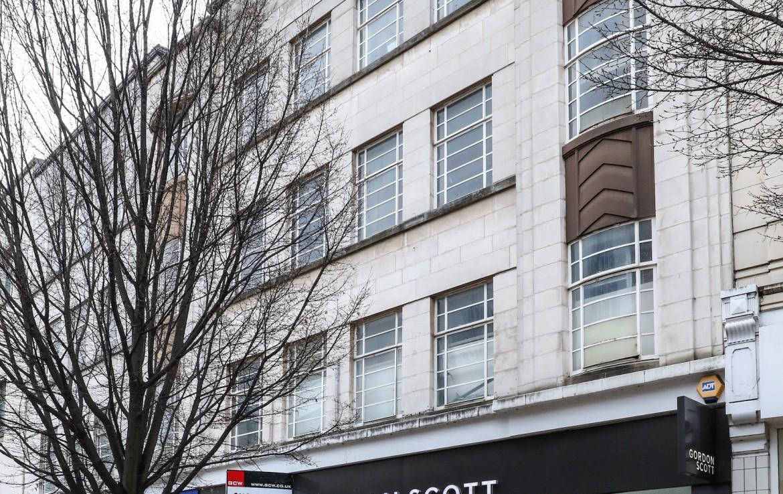 High street retail unit Nottingham