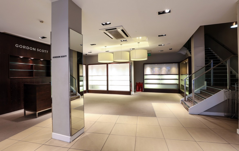 Nottingham Listergate retail space inside