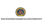 The stained leaded glass company logo