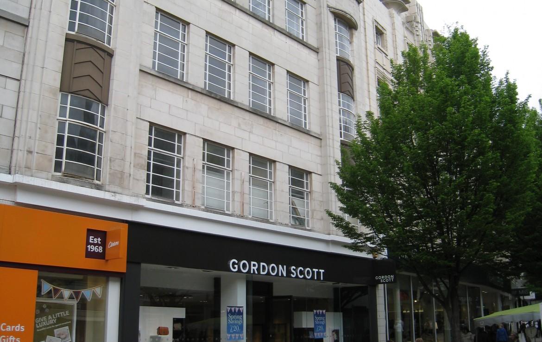 Millfield Estates retail unit Lister Gate Nottingham external