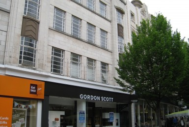 Millfield Estates retail unit Lister Gate Nottingham external