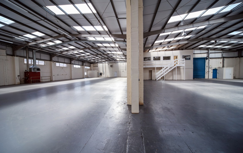 Millfield Estates Roundwood Vacant Warehouse