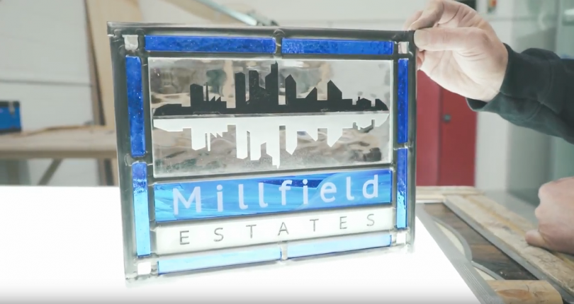 Millfield Estates Stained Leaded Glass Co