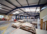 Millfield Estates Lodge Bank internal warehouse overview 2