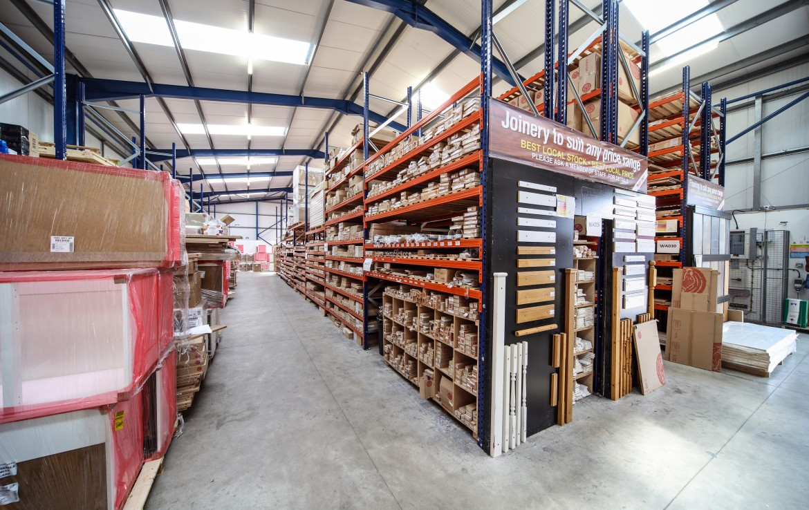Millfield Estates Lodge Bank internal warehouse overview 4
